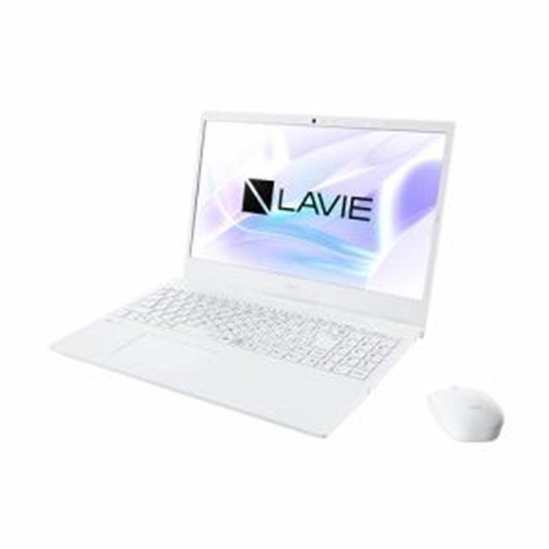 NEC PC-N1565AAW ノートパソコン LAVIE N15 パールホワイト