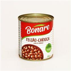 BONARE FEIJÃO-PRETO フェイジョンプレット 黒いんげん豆煮込み 300g  ブラジル料理 フェイジョアーダ 缶詰
