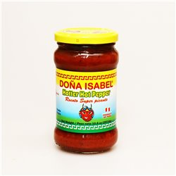 Dona Isabel Hotter Hot Pepper Rocoto Super picante レッドホットペッパーペースト激辛 297.6g