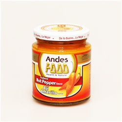 Andes FOOD Yellow HotPepper Sauce Aji Amarillo salsa イエローホットペッパーソース 220g