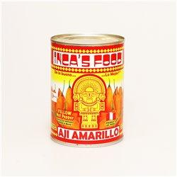 INCAS FOOD AJI AMARARILLLO イエローホットペッパー 塩水漬け 560g