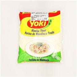 Yoki Manioc Flour Harina de Mandioca Cruda Farinha de Mandioca 500g