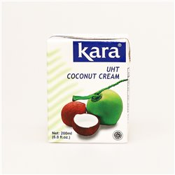 kara UHT COCONUT MILK 200ml ココナッツクリーム