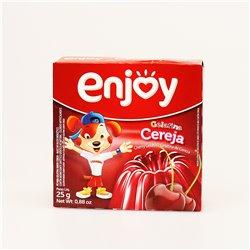 enjoy Gelatina Cereja 25g エンジョイ ゼリーの素 (チェリー味)