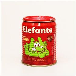Elefante 340g トマトペースト EXTRATO DE TOMATE ELEFANTE
