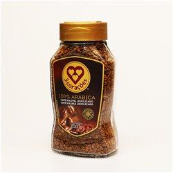 3 corações CAFÉ SOLÚVEL 100% ARABICA 100g トレスコラソエンス インスタントコーヒー100%アラビカ