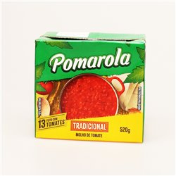 Pomarola TRADICIONAL MOLHO DE TOMATE 520g カーギル ポマローラ トマトベースソース
