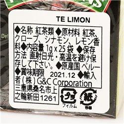 HORNIMANS Limon 1g x 25袋