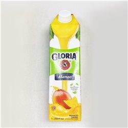 GLORIA Mango 1L マンゴー果粒入り飲料