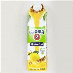 GLORIA Passiong Fruit 1L パッションフルーツ果粒入り飲料