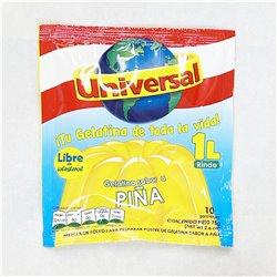 Universal Gelatina sabor a PINA 75g 粉末ぜりーの素 パイナップル