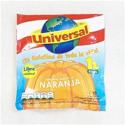Universal Gelatina sabor a NARANJA 75g 粉末ぜりーの素 オレンジ