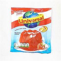 Universal Gelatina sabor a STRAWBERRY 75g 粉末ぜりーの素 ストロベリー