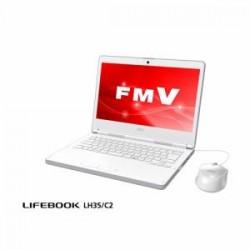 富士通 FMVL35C2W モバイルパソコン FMV LIFEBOOK LH35/C2 アーバンホワイト