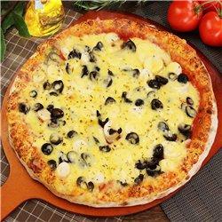 38 パウリスタピザ(パウミットとオリーブピザ)