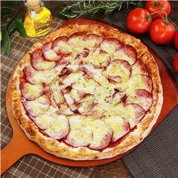 カラブレーザとナチュラルチーズピザ