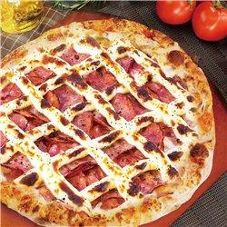 16 カラブレーザとクリームチーズピザ