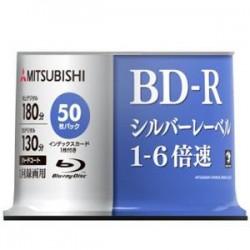 三菱ケミカルメディア VBR130R50SD5 1回書込録画用 BD-R 6倍速 50枚