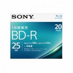 ソニー 20BNR1VJPS4 ビデオ用ブルーレイディスク 20枚パック