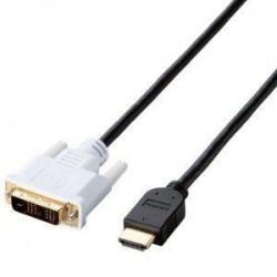 エレコム CAC-HTD15BK HDMI-DVI変換ケーブル 1.5m