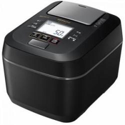 日立 RZ-W100CM K 圧力&スチームIHジャー炊飯器 ふっくら御膳 5.5合炊き フロストブラック