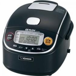 象印 NP-RZ05-BA 圧力IH炊飯器 極め炊き 3合炊き ブラック