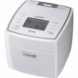 三菱 NJ-VVA10-W IH炊飯器 5.5合炊き 備長炭 炭炊釜 ピュアホワイト